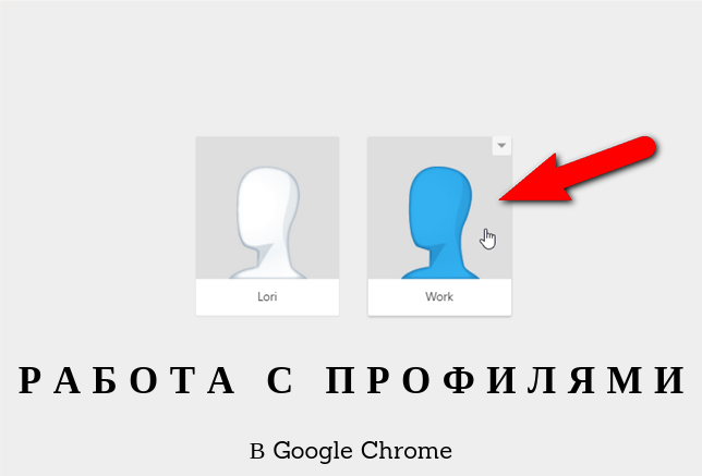 Профили Google Chrome